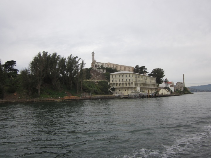 Visiting Alcatraz with Baby