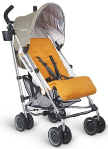 stroller-uppababy-g-luxe-yellow