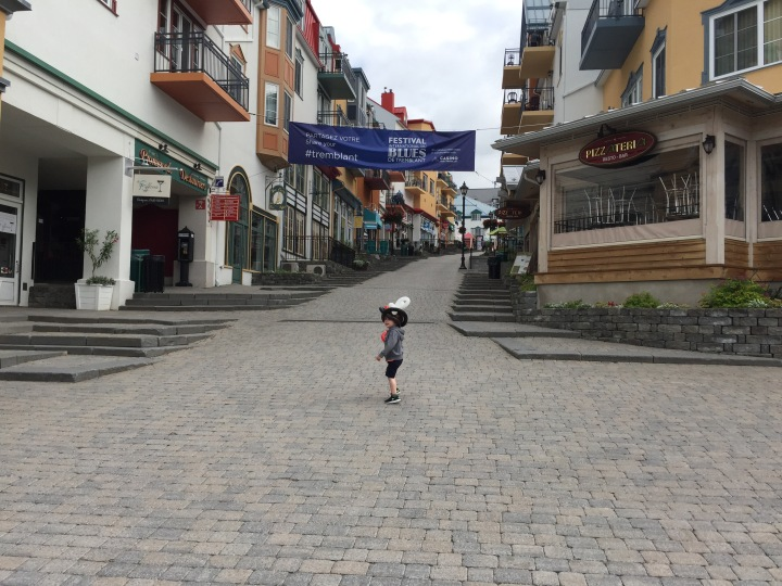 Tremblant Village with Kids