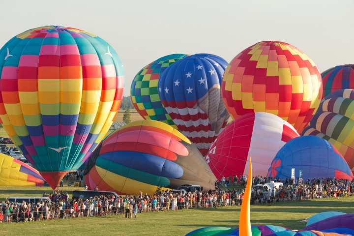 The International Balloon Festival of Saint-Jean-sur-Richelieu Starts This Weekend