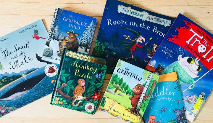 Best books for kids – Anything by Julia Donaldson