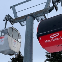 A Weekend Away (without the kids) at Ski Mont Sainte-Anne and Quebec City
